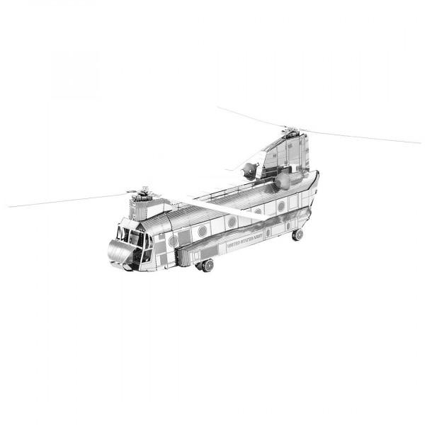 Metal Earth 3D Metallbausatz, Hubschrauber CH-47 Chinook