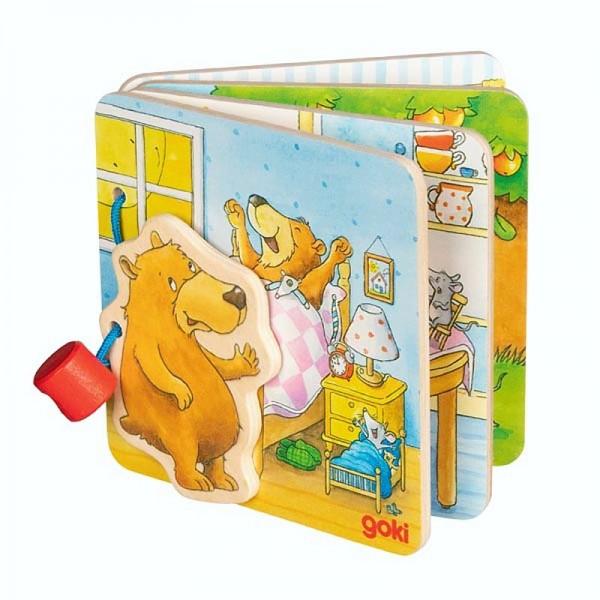 Bilderbuch Der kleine Bär, aus Holz, ab 1 Jahr