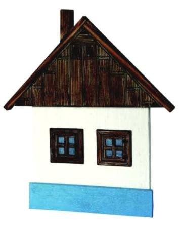 Walachic Wanddeko Holzbaude 1B