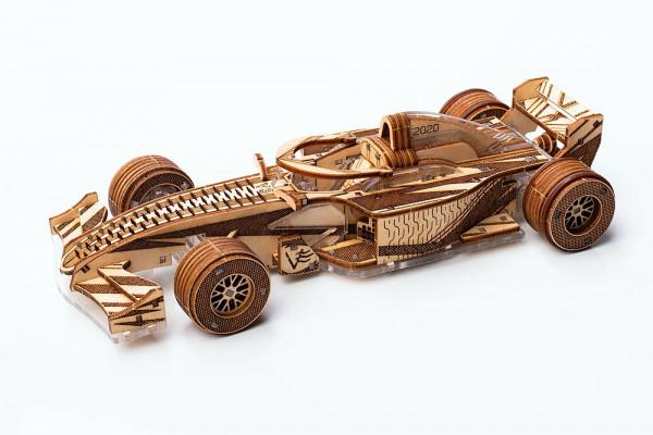 Veter Models RACER V3, mechanischer 3D Rennwagen Bausatz
