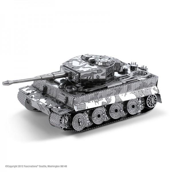 Metal Earth Edelstahl Bausatz Panzer Tiger 1