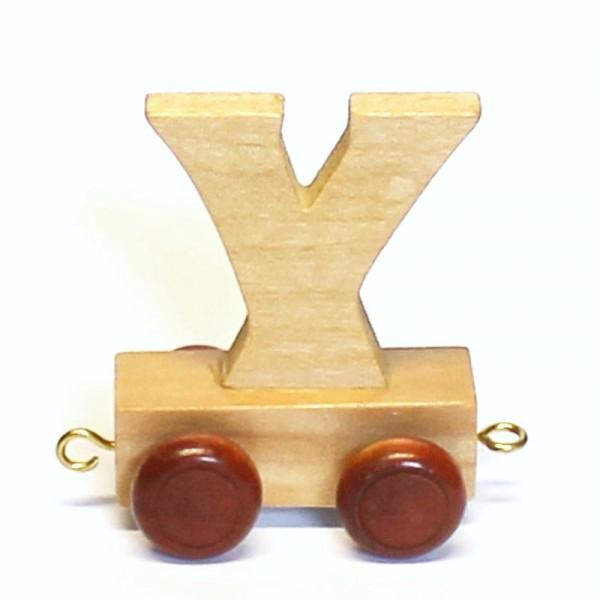 Buchstabenzug Buchstabe Y, Holz