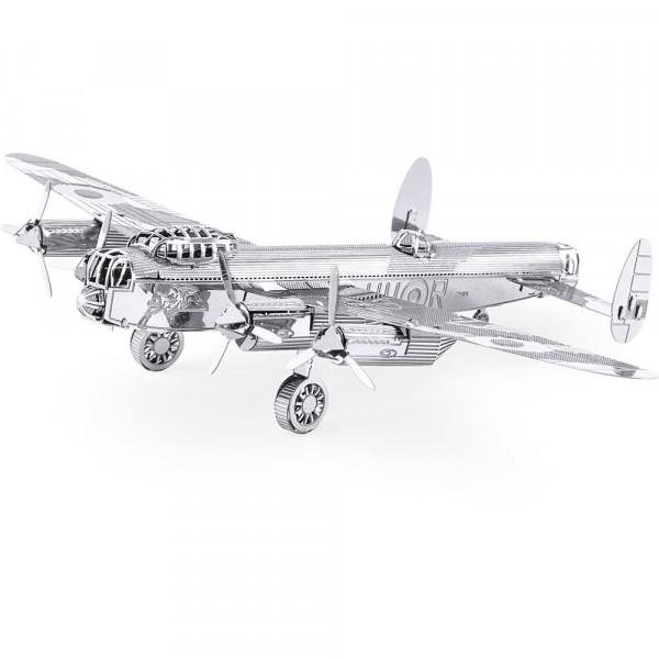 Metal Earth 3D Metallbausatz, Flugzeug Lancaster Bomber