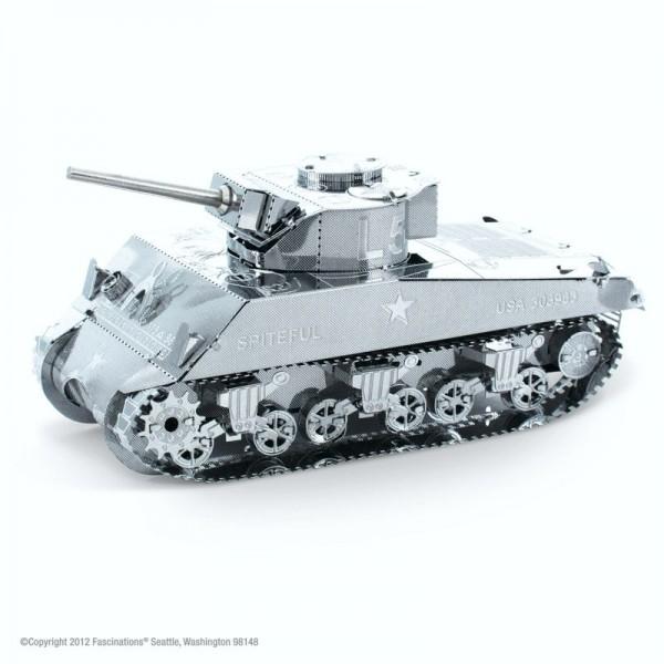 Metal Earth Edelstahl Bausatz Sherman Tank