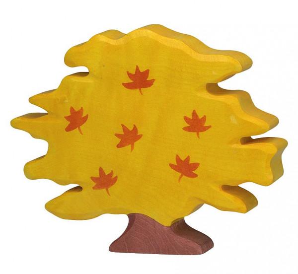 Holztiger Baum Ahorn, klein