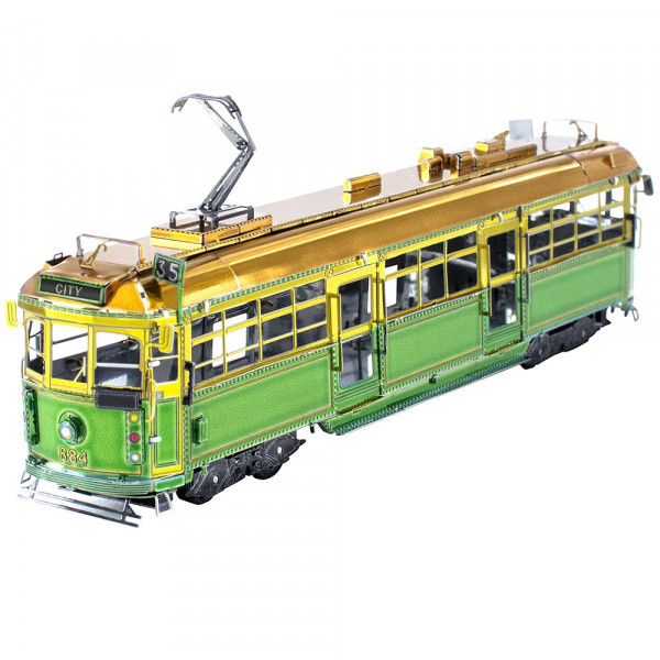 Metal Earth 3D Metallbausatz Melbourne W-Class Tram