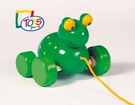 Goki Ziehtier Frosch Frodoh, Holz
