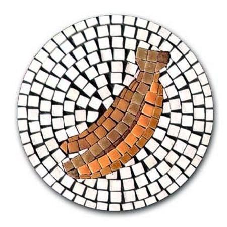 Mosaic Bausatz Bananen, mit Magnetfolie