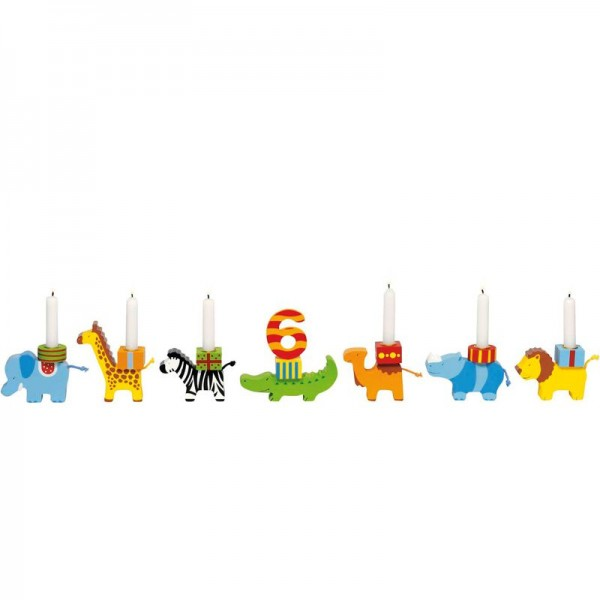 Goki Basic, Geburtstagstierparade austauschbare Zahlen
