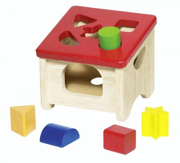 Steckbox, 5 Klötze, Holz