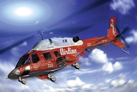 Hubschrauber, 200 Teile REVELL (inkl. Mini-Kits)