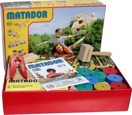 Matador Holzbaukasten Ki 3