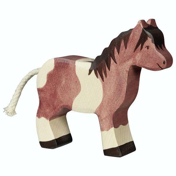 Holztiger Spielfigur Pony