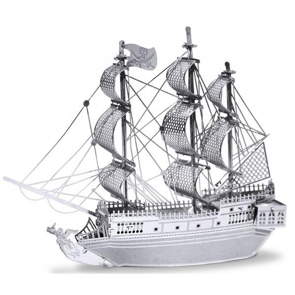 Metal Earth 3D-Metallbausatz Piratenschiff Black Pearl