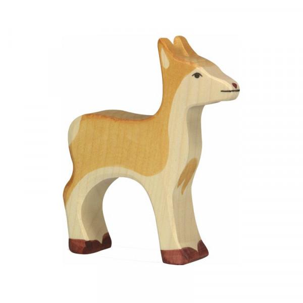 Holztiger Spielfigur Reh