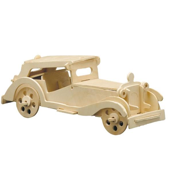Pebaro Holzbausatz Auto MG TC