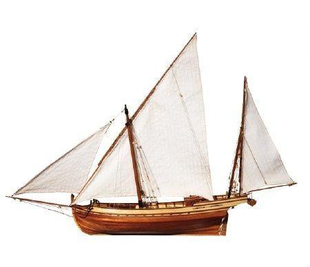 San Juan 1:70 Schiffsbausatz