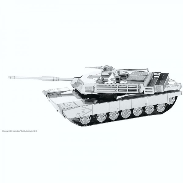 Metal Earth Edelstahl Bausatz M1 Abrams Tank