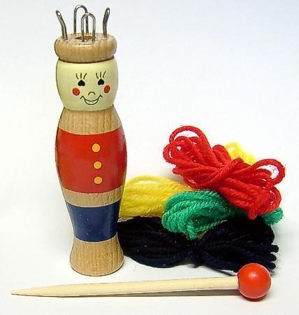 Stricksusel aus Holz