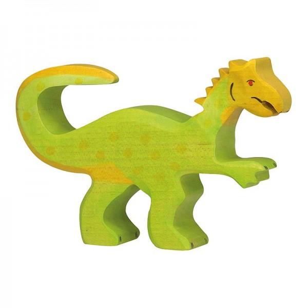 Holztiger Spielfigur Dinosaurier Oviraptor