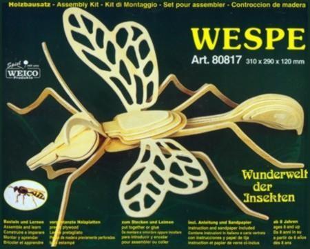 Weico Holzbausatz Wespe