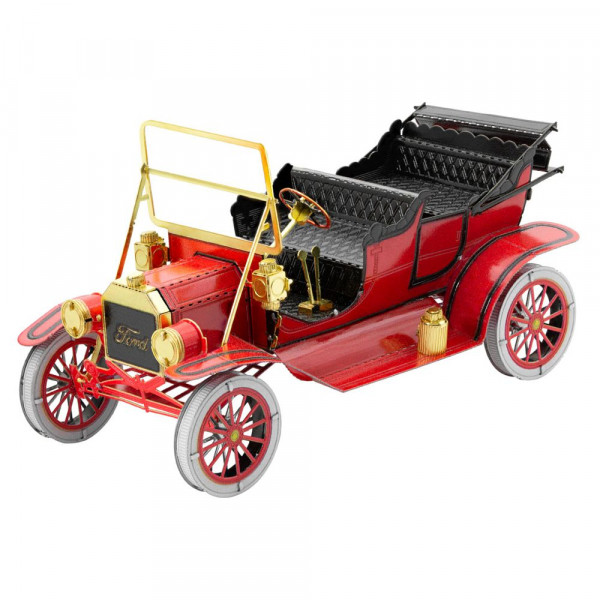 Metal Earth 3D Metallbausatz 1908 Ford Model T (Red)