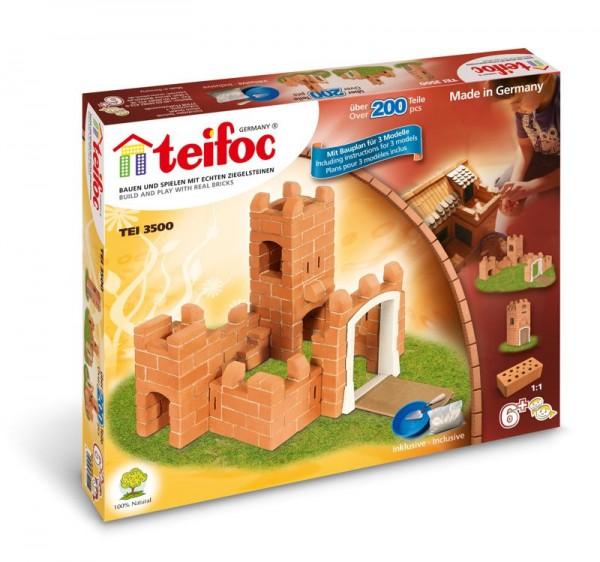 Teifoc Steinbausatz Burg klein