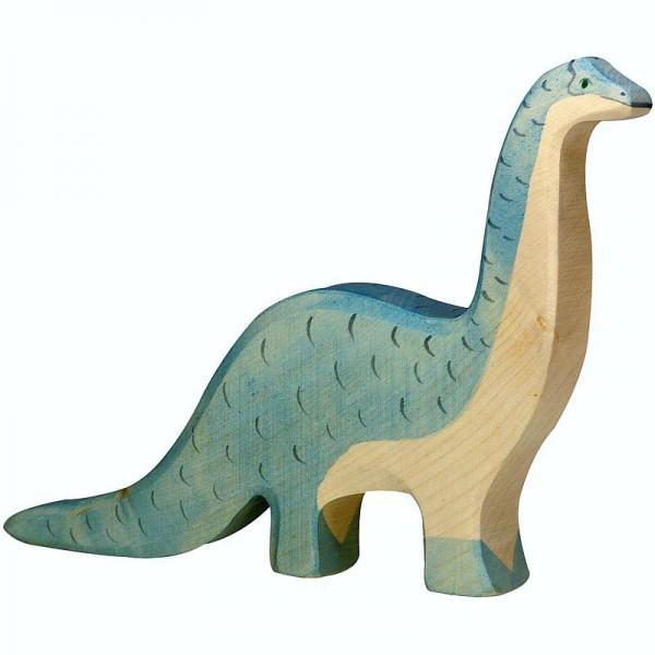 Holztiger Spielfigur Dinosaurier Brontosaurus