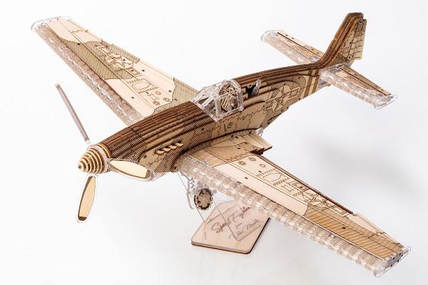 Veter Models SPEED FIGHTER, mechanischer 3D Flugzeug Bausatz