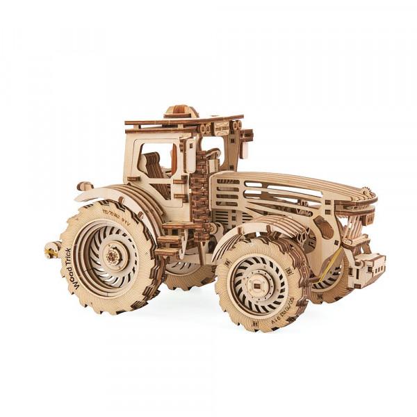 Wood Trick: 3D Holzbausatz Traktor, mit mechanischen Funktionen