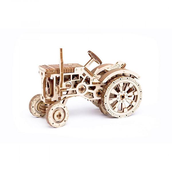 Wooden City: mechanischer Holzbausatz Tractor