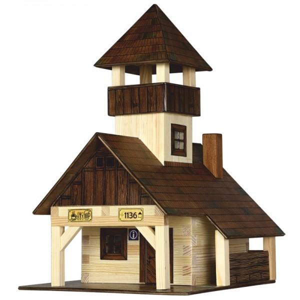 Walachia Holzbausatz Wanderhütte