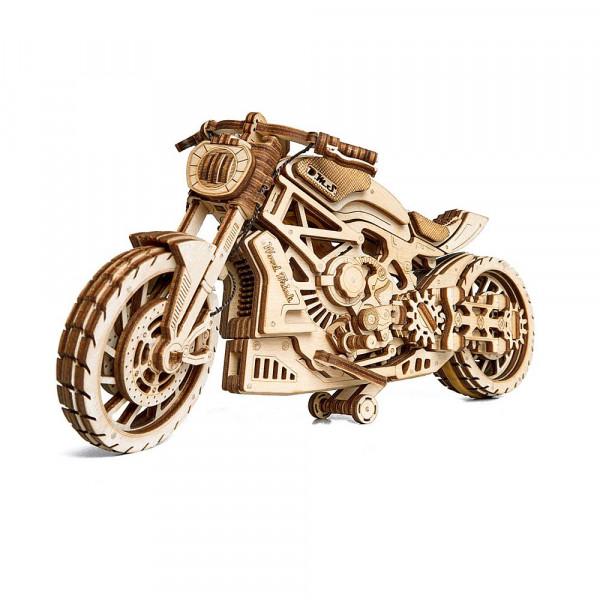 Wood Trick Motorcycle, 3D Motorradbausatz aus Holz, lasercut