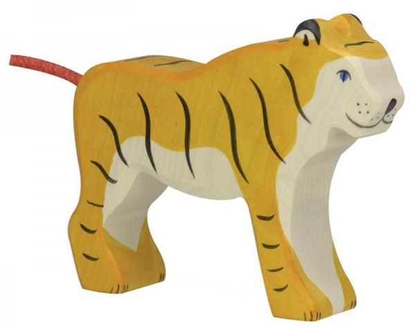 Holztiger Spielfigur Tiger, stehend