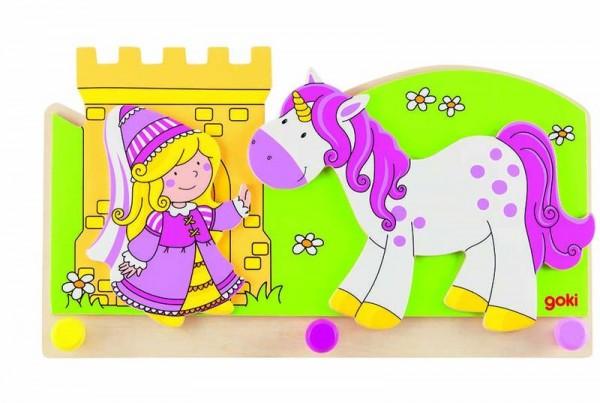 Garderobe Kleine Prinzessin mit Einhorn