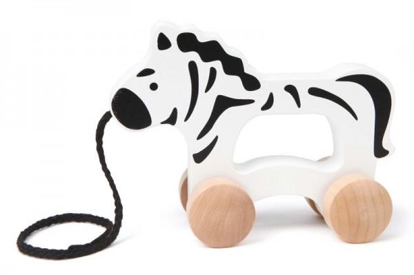Ziehtier, Nachzieh-Zebra, aus Holz