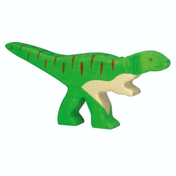 Holztiger Spielfigur Dinosaurier Allosaurus