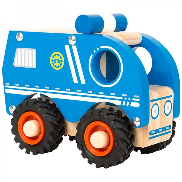 Polizeiauto, Holzspielzeug ab 18 Monate
