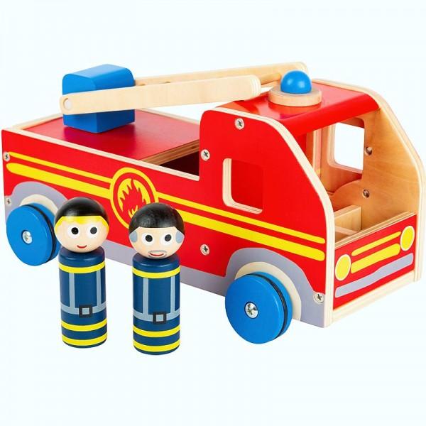 Spielauto Feuerwehr XL, Holzspielzeug