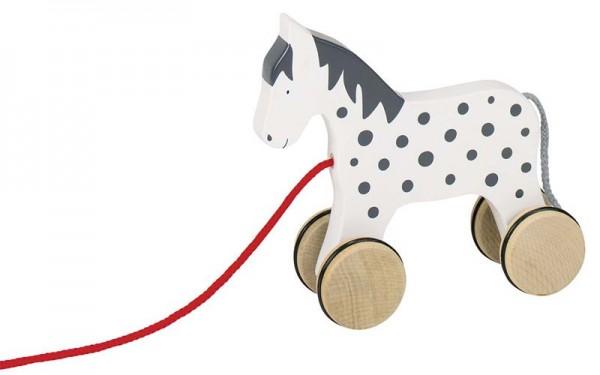 Ziehtier Pferd Alvah, Holz