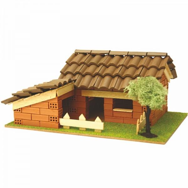 Steinbausatz Haus Kid 4, Ziegelsteinbausatz zum Mauern