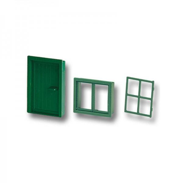 Teifoc Tür und Fenster im Set, Kunststoff