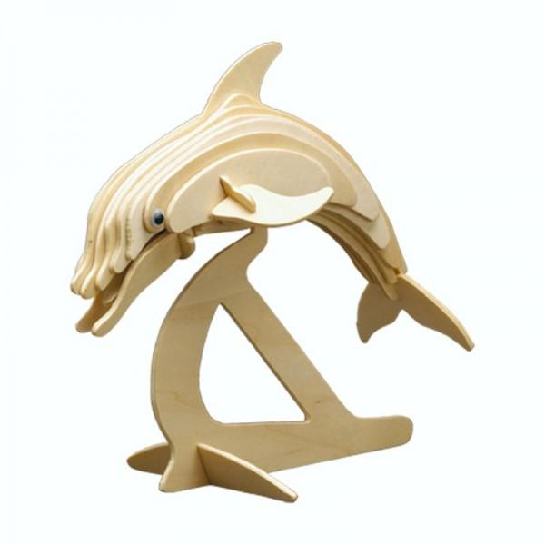 Pebaro Holzbausatz Delphin