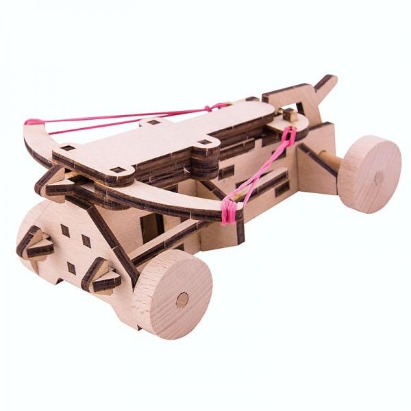 WoodWars - Holzbausatz Balliste, lasercut passgenau vorgefertigt