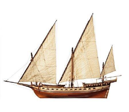 Cazador 1:60 Schiffsbausatz