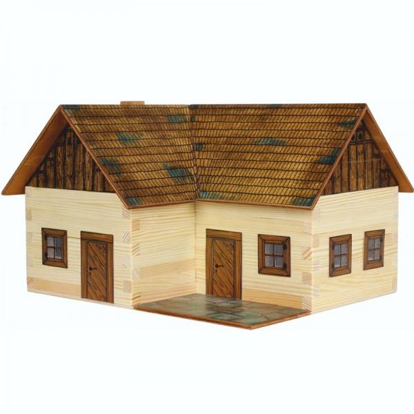Walachia Holzbausatz Einsiedelhof