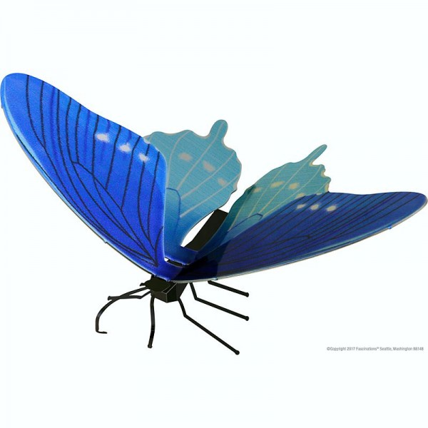 Metal Earth Bausatz Schmetterling Butterfly Pipevine Swallowtail