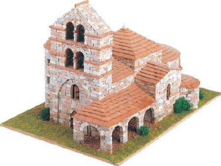 Domus Kits Steinbausatz Romanica 10 St. Salvador de Cantamuda