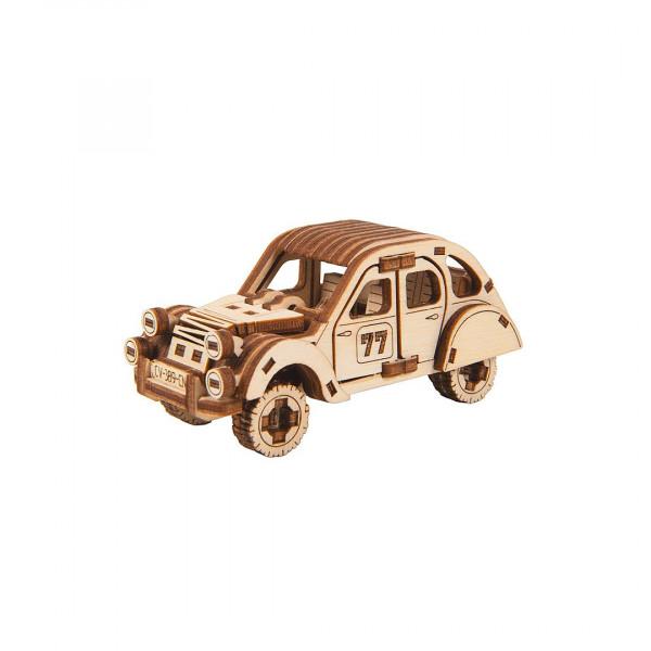 Wooden City Superfast, 3D Holzbausatz Rally Car 2, Economy Car