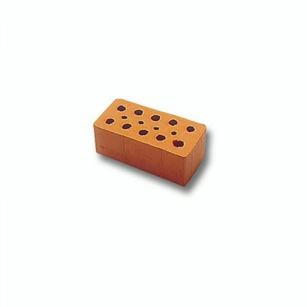 Teifoc Backstein, Mauerstein rot. Miniaturziegel, 32 Stück